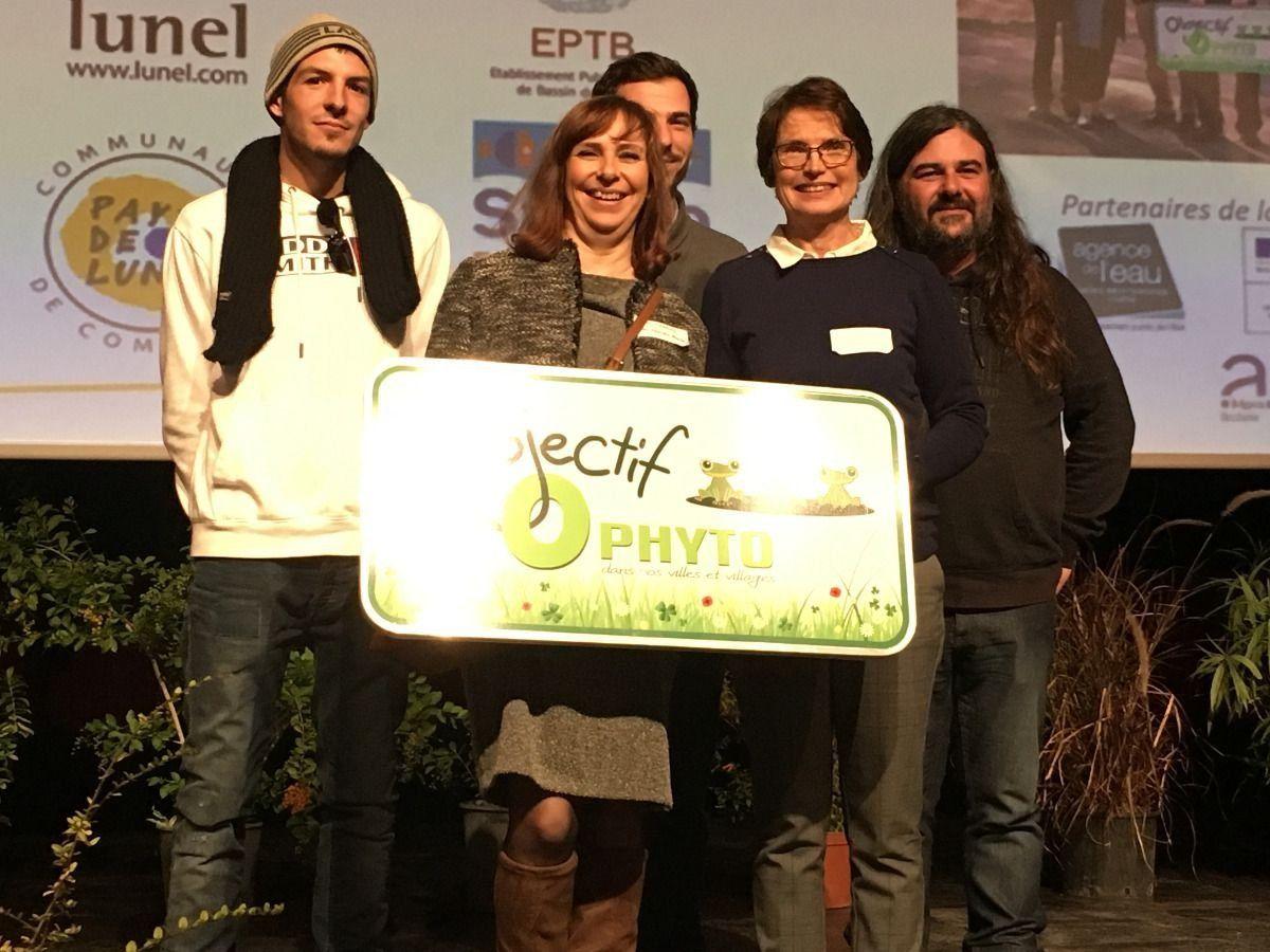 La commune obtient le label Terre Saine en 2018!